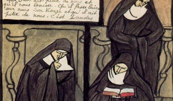 Mère Geneviève Gallois, religieuse et caricaturiste